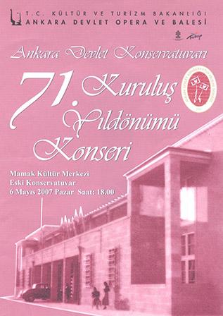 71. Yıl Kuruluş Konseri