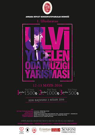 1. Uluslararası Ulvi Yücelen Oda Müziği Yarışması